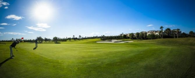 Green 1 – players, green – Roda Golf